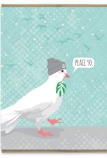 Peace Yo Dove Greeting Card