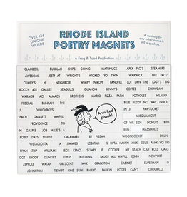 Frog & Toad Press Rhode Island Poetry Magnets