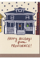 La Familia Green Providence House Holiday Greeting Card