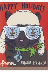 Rhode Island Alpine Cat Holiday Card Box Set