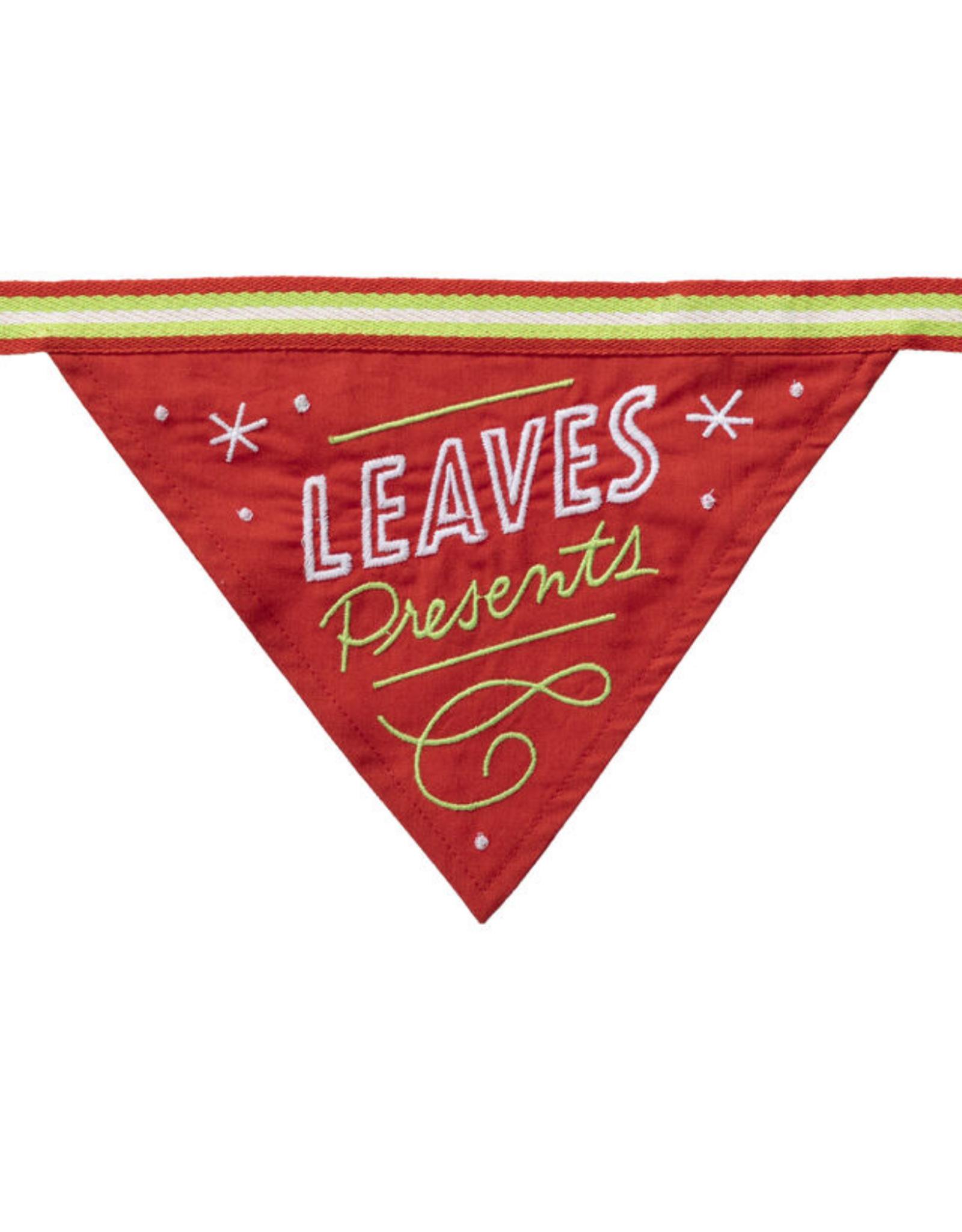 Leaves Presents Dog Bandana