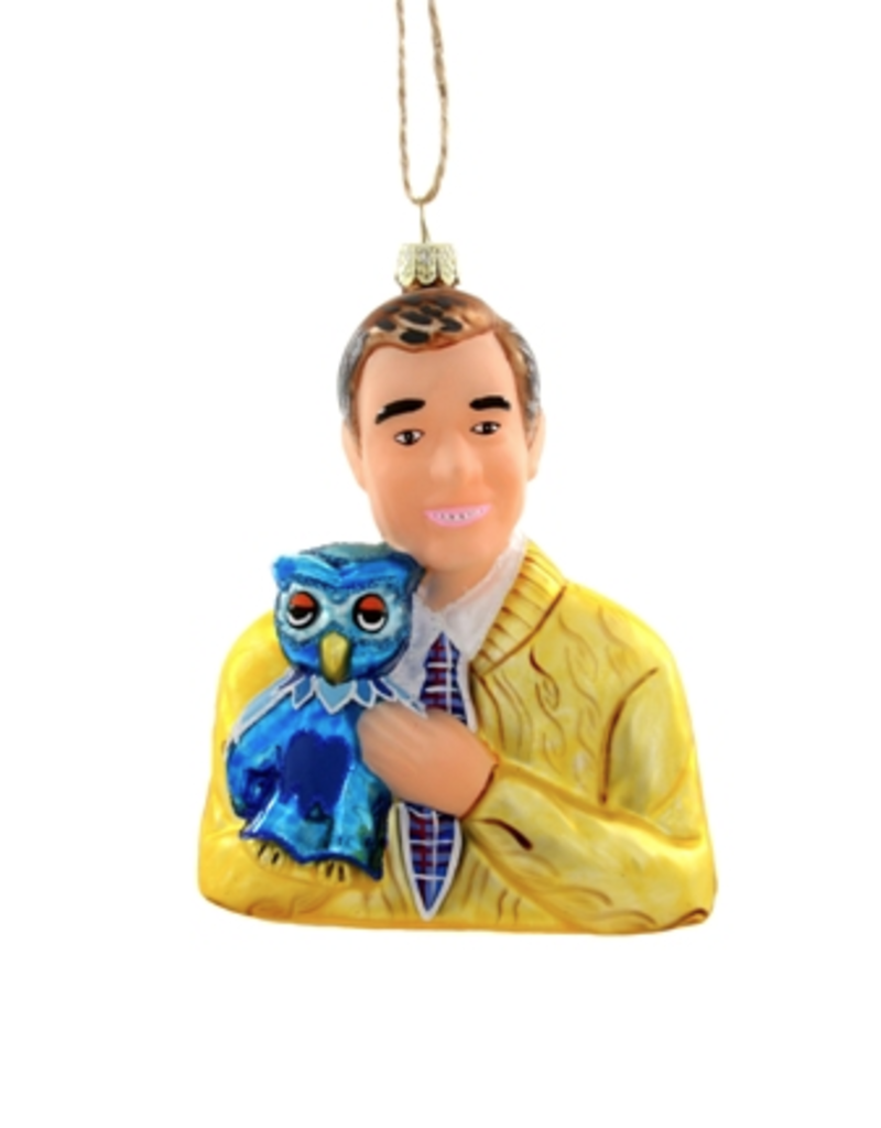 Cody Foster Mister Rogers Ornament