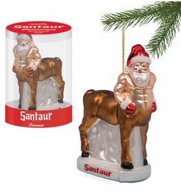 Accoutrements LLC Santaur Ornament