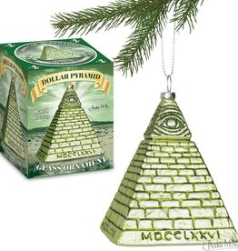Accoutrements LLC Dollar Pyramid Ornament