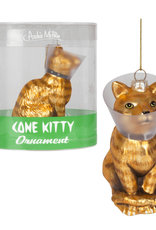 Accoutrements LLC Cone Kitty Ornament