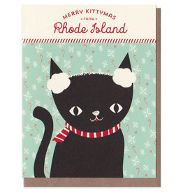 Night Owl Paper Goods Merry Kittymas from RI Card Box Set