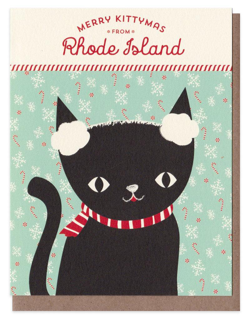 Night Owl Paper Goods Merry Kittymas from RI Card Box Set