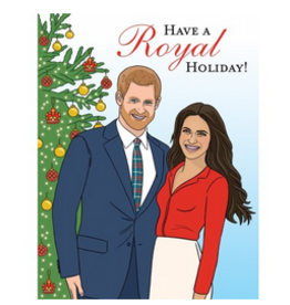 The Found Have a Royal Holiday Greeting Card