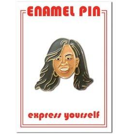 Michelle Obama Enamel Pin