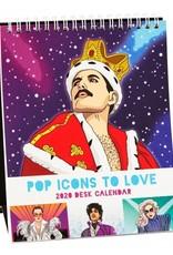 The Found Pop Icons 2020 Desk Calendar