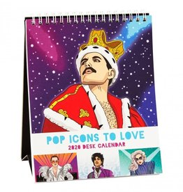 The Found Pop Icons 2020 Desk Calendar