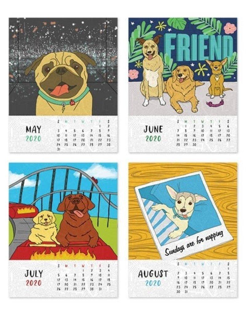 The Found Dogs to Love 2020 Desk Calendar