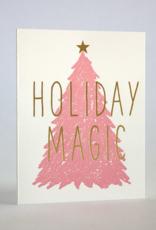 Fugu Fugu Holiday Magic Pink Tree Card Boxed Set