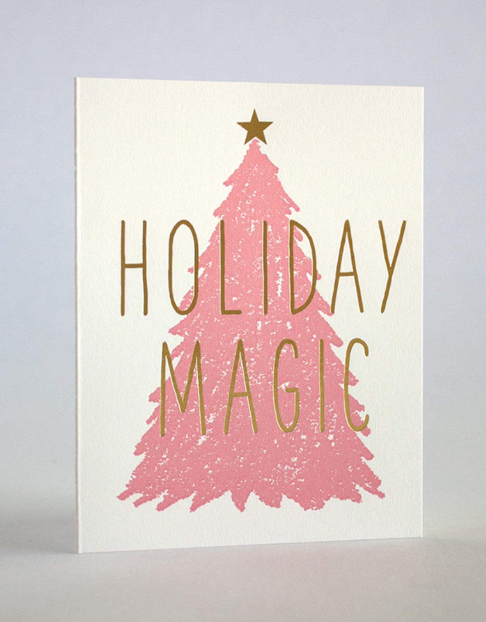 Holiday Magic Pink Tree Card Boxed Set