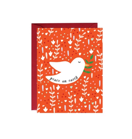 Paula & Waffle Peace on Earth Red with White Dove Boxed Set