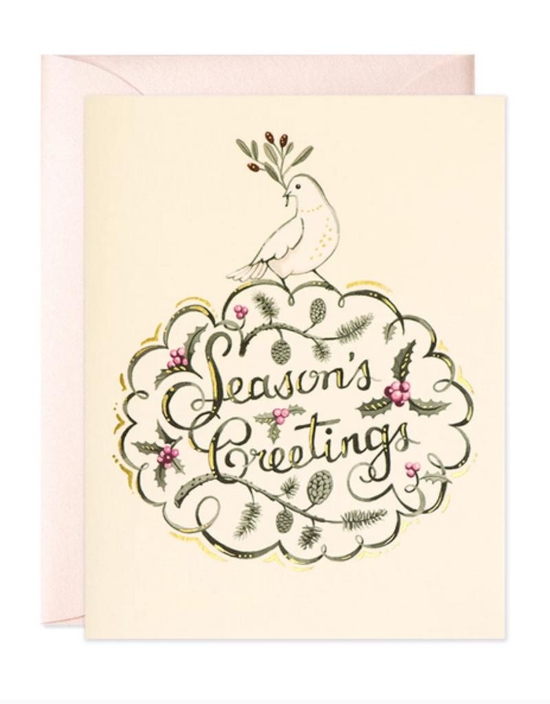 JooJoo Paper Dove Seaon's Greetings Holiday Card Box Set