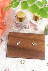 Fawn Stud Earrings - Sterling Silver