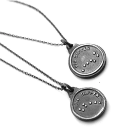 Big Dipper & Little Dipper Set of 2 Necklaces