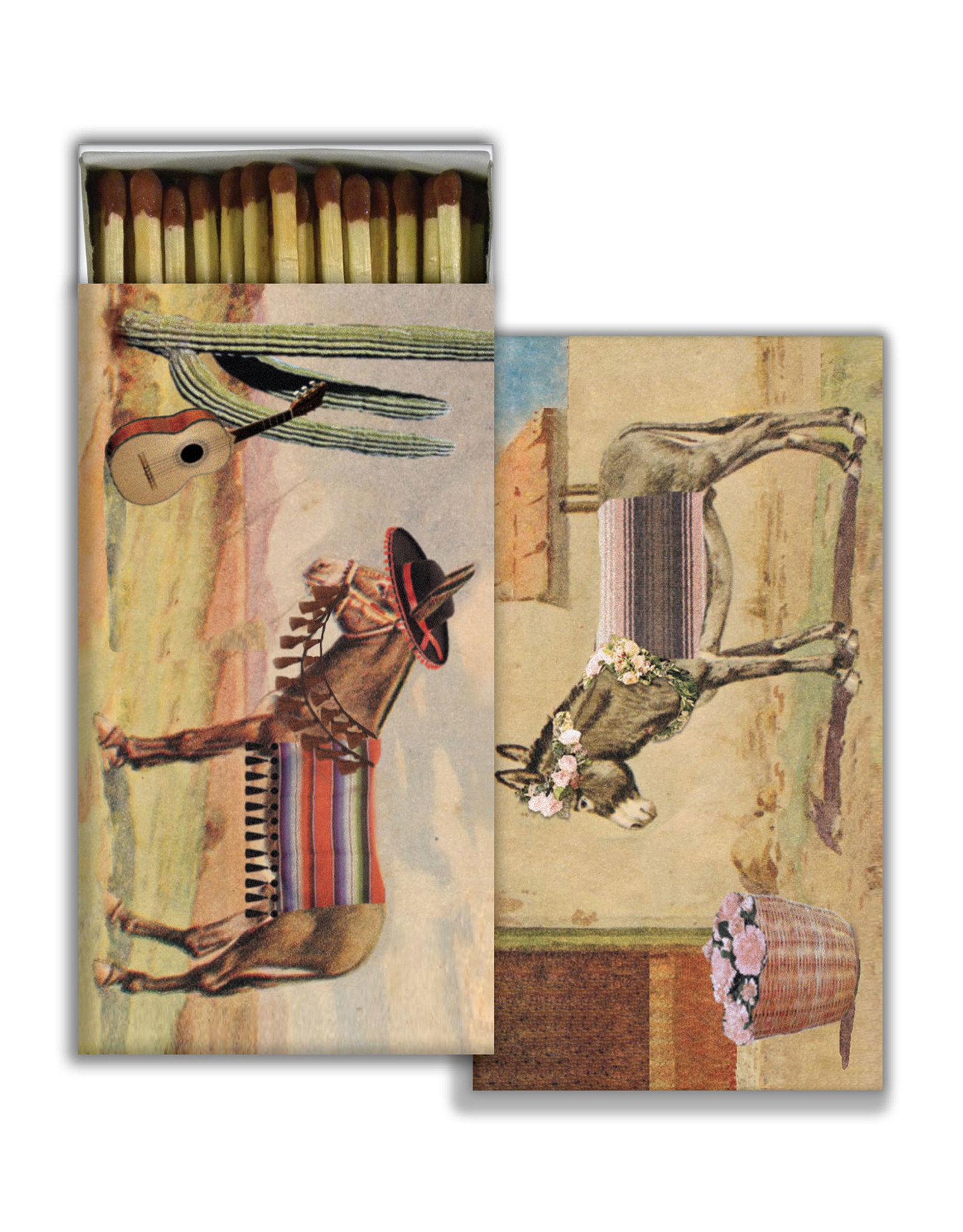Matches - Brown Burros