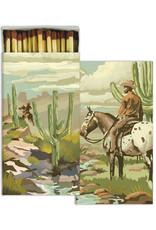 HomArt Matches - Cowboy Brown