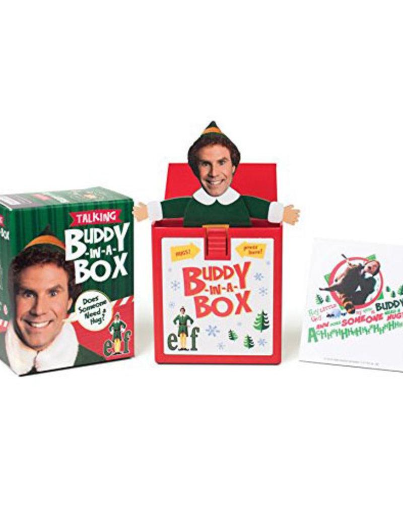 Running Press Elf Talking Buddy In a Box