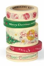 Cavallini Decorative Paper Tape - Christmas