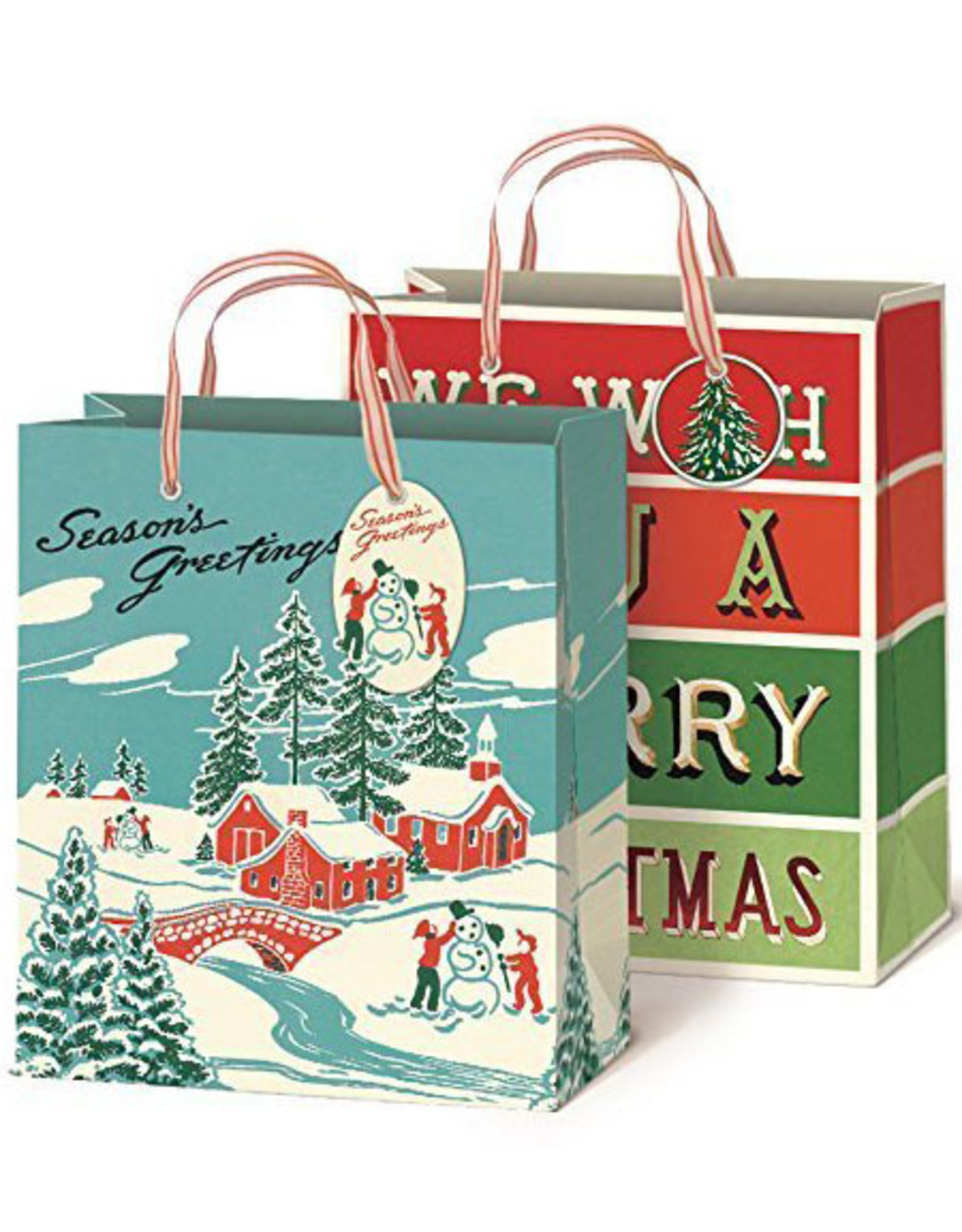 Winter Wonderland Gift Bags Set of 2