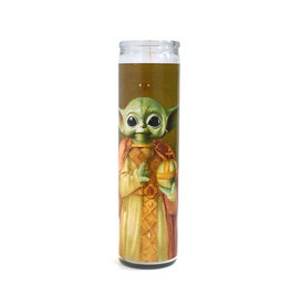 Rust Belt Cooperative St. Baby Yoda Prayer Candle