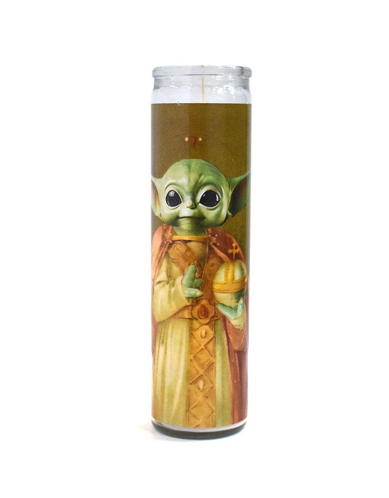 Rust Belt Cooperative St. Baby Yoda Prayer Candle