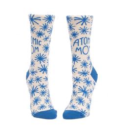 Blue Q Atomic Mom Women's Crew Socks