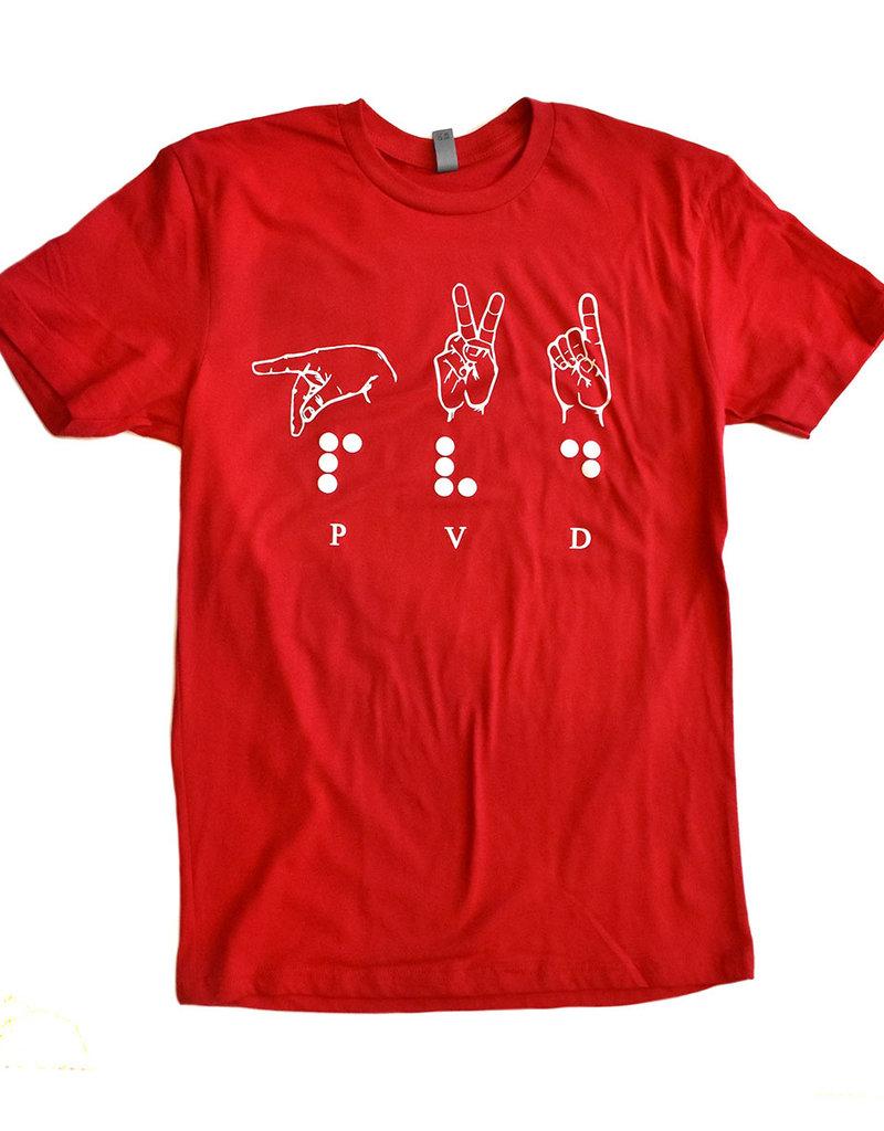 Bad Taste Providence Sign Language Shirt