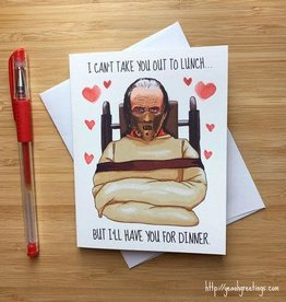 YeaOh Greetings Hannibal Love Greeting Card