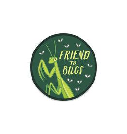 Friend to Bugs Sticker
