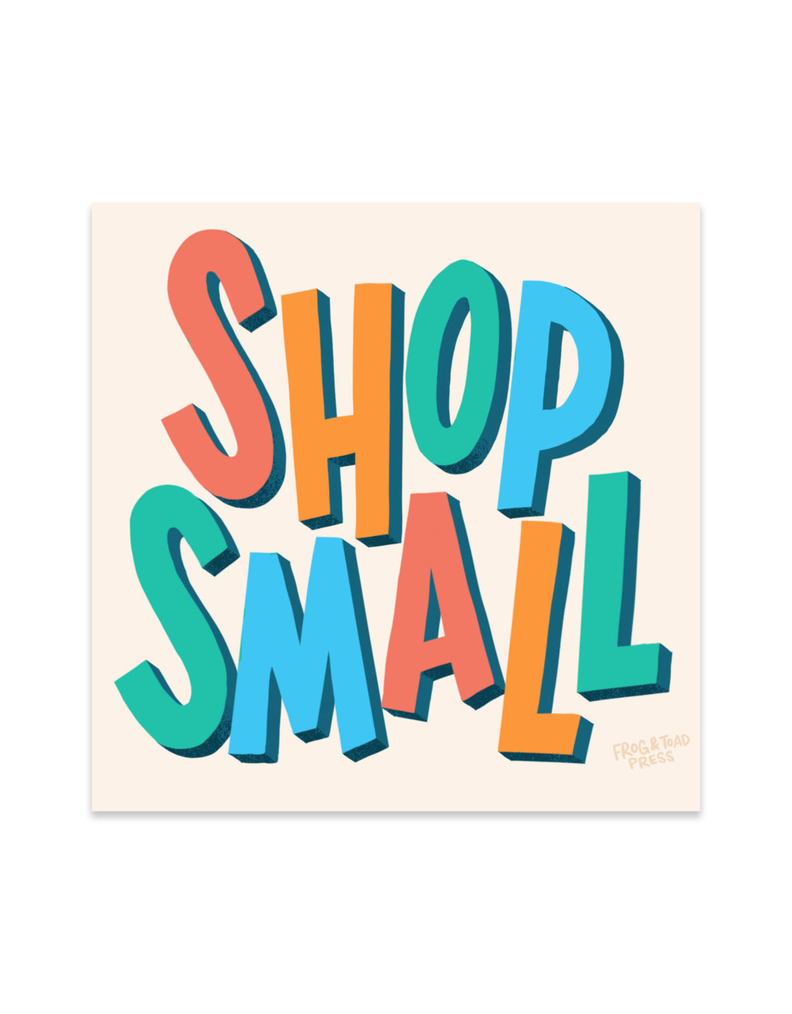 Shop Small Sticker