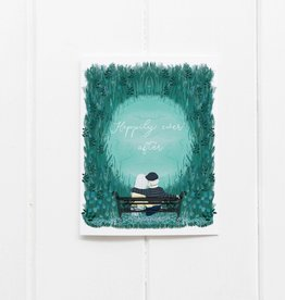 Happily Ever After (Bench) Greeting Card