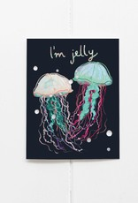 I'm Jelly Greeting Card