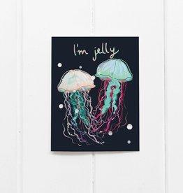 Ramus and Company I'm Jelly Greeting Card