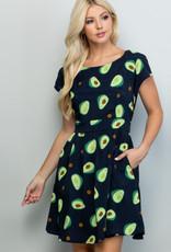 LA Soul Avocado Dress (Black)
