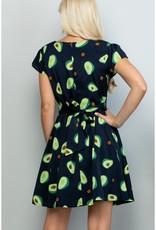 Avocado Dress (Black)