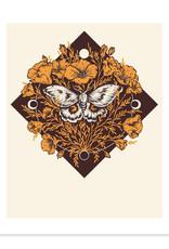 Mustard Beetle Handmade By the Moonlight  Print
