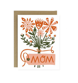 Worthwhile Paper Mom Bouquet Greeting Card