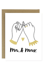 Mr. & Mrs. Pinky Promise Greeting Card