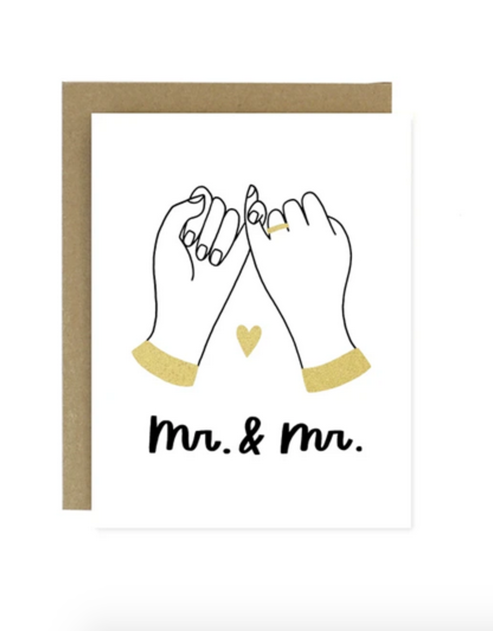 Mr. & Mr. Pinky Promise Greeting Card