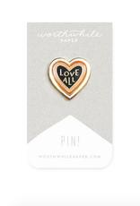 Love All Enamel Pin