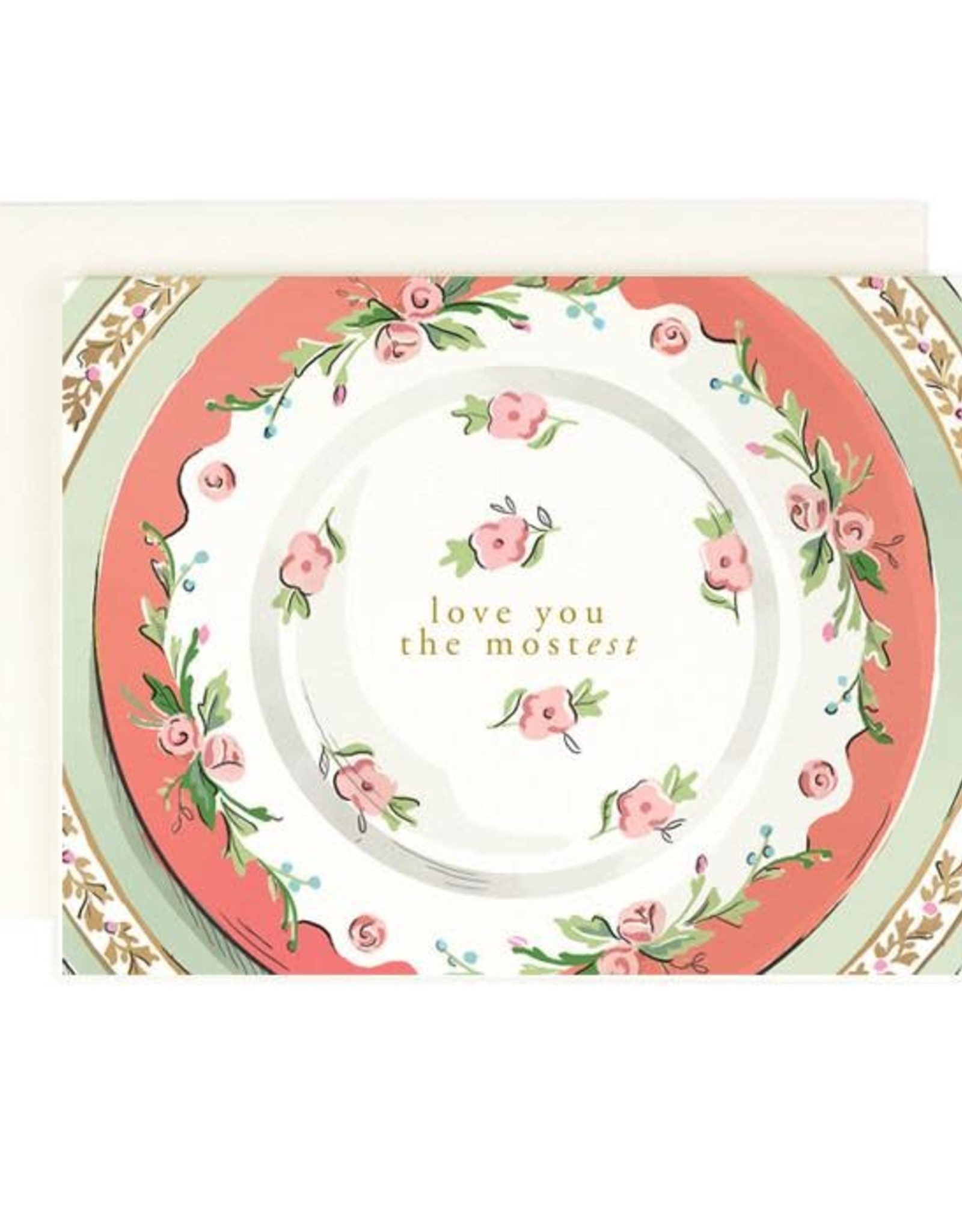 Amy Heitman Illustration Love You the Mostest Greeting Card