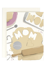 Mom Cookie Cutter Greeting Card