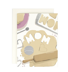 Amy Heitman Illustration Mom Cookie Cutter Greeting Card