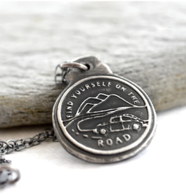 Find Yourself On the Road Necklace
