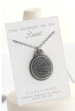Figs and Ginger Find Yourself On the Road Necklace