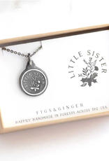 Figs and Ginger Little Sister Necklace